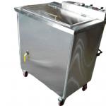 Automatic skewer washing machine