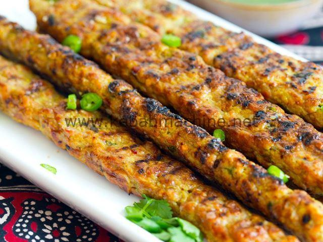 chicken minced kebab